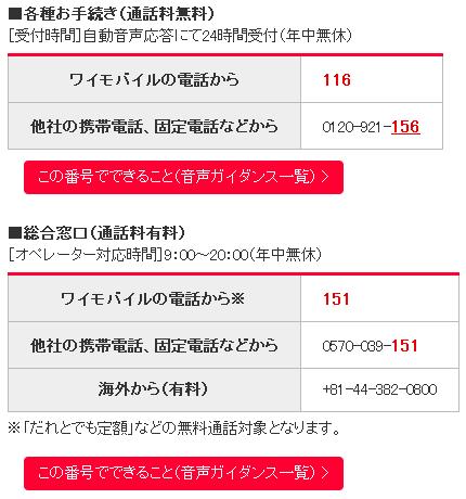 ワイモバイル(Y mobile) 04