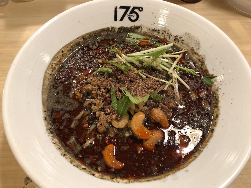 すごくしびれる汁あり黒ごま担担麺