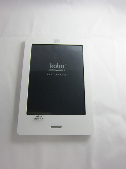 楽天「kobo Touch」本体