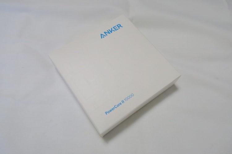 Anker PowerCore II 10000外箱