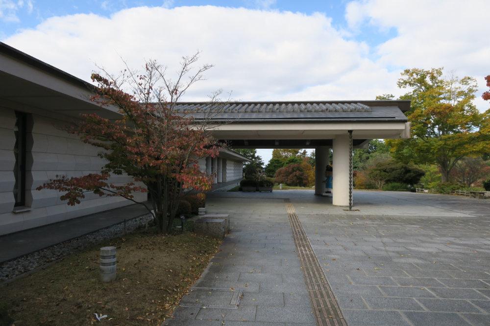 奈良県立万葉文化館 入口