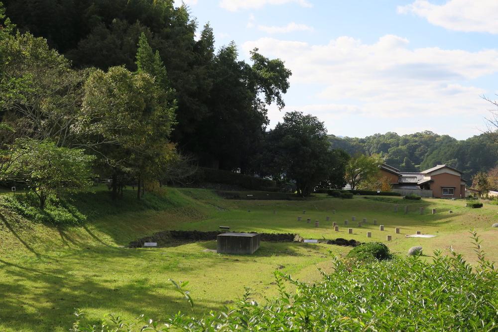 飛鳥池工房遺跡 全景