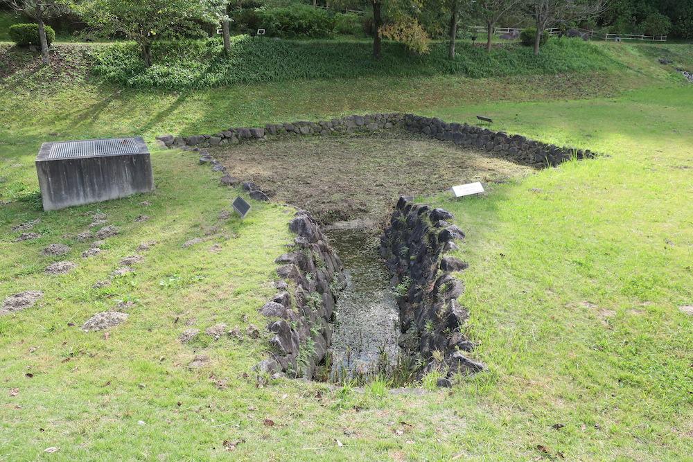 石組方形池跡