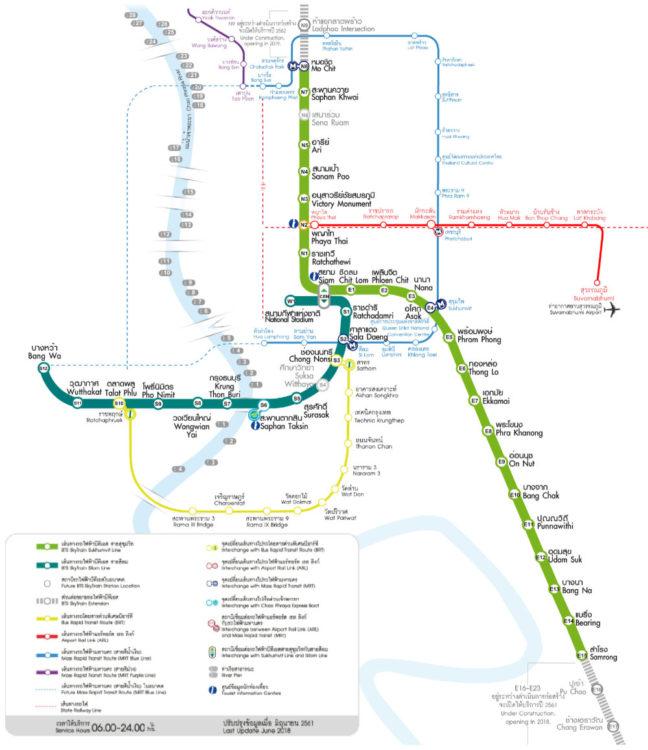 BTS Service Routes