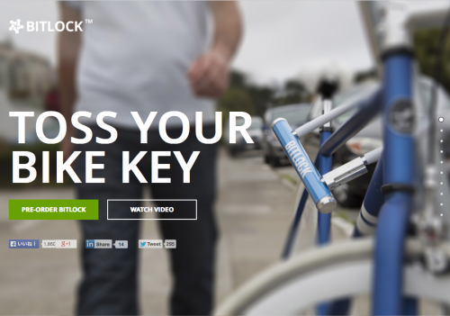 Bitlock: The world's first smart keyless bike lock