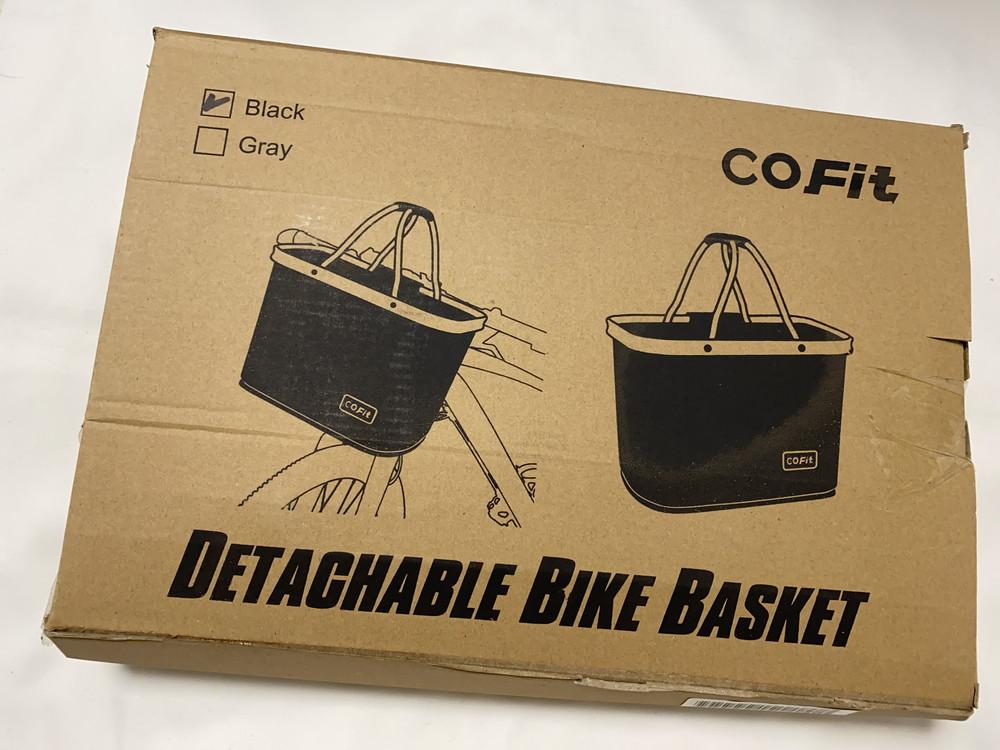 COFIT 自転車バスケット 外箱