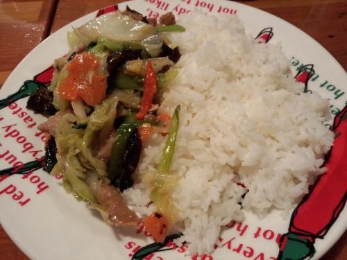 タイ風の野菜炒めです