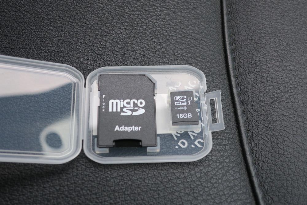 DRV-340 16GB microSDHCカード