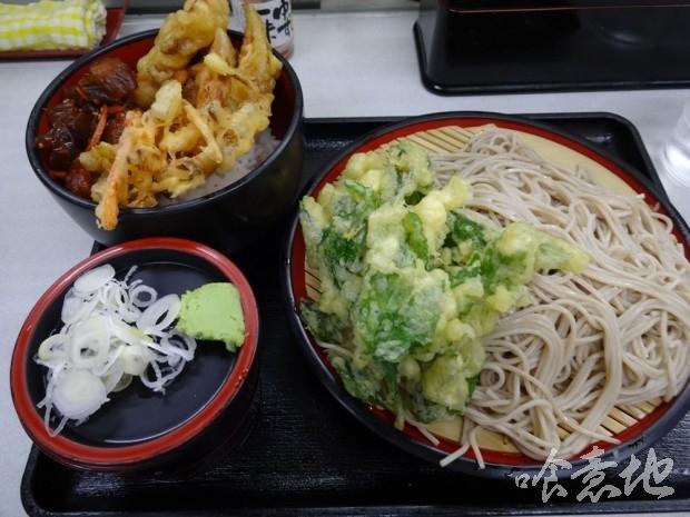 天丼・そばセット500円