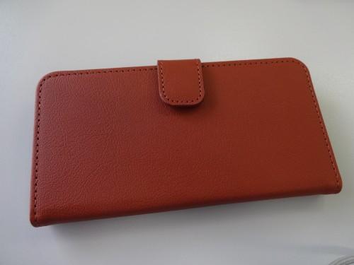 ラスタバナナ iPhone6 (4.7インチ)用 手帳タイプ横型ケース ブラウン