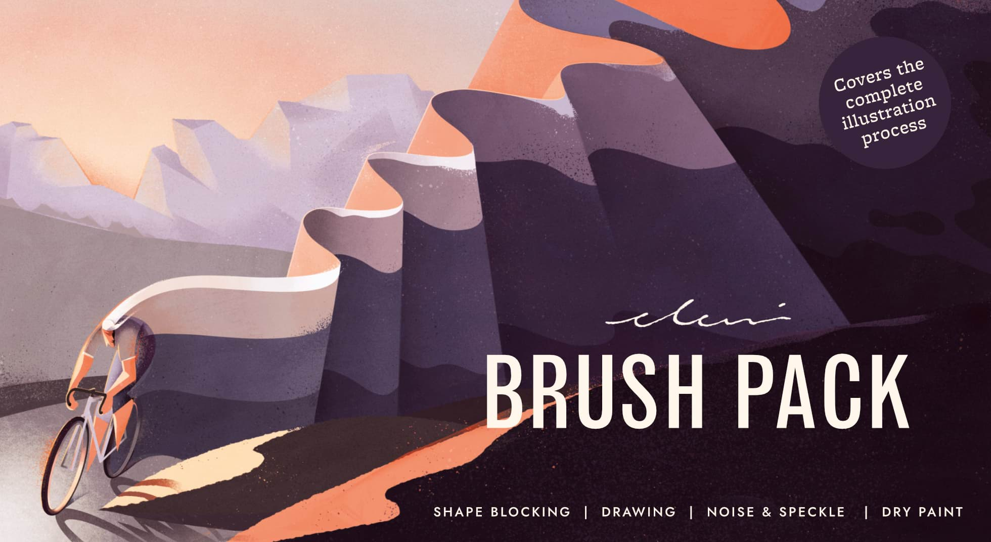 Eleni Debo Illustration Brush Pack