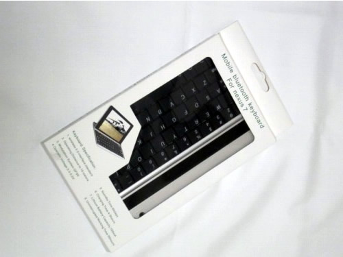 Mobile bluetooth keyboard for Nexus 7 購入時