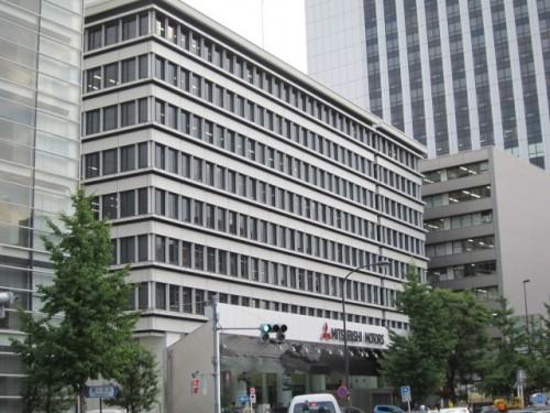 三菱自動車工業本社がある第一田町ビル
