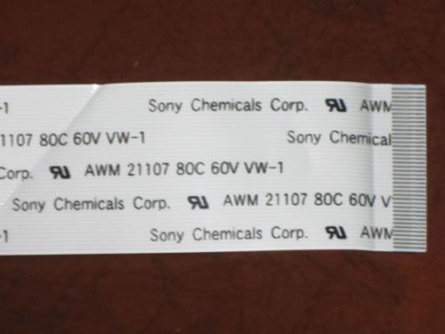 Sony Chemicals Corp. AWM 21107 80C 60V  VW-1