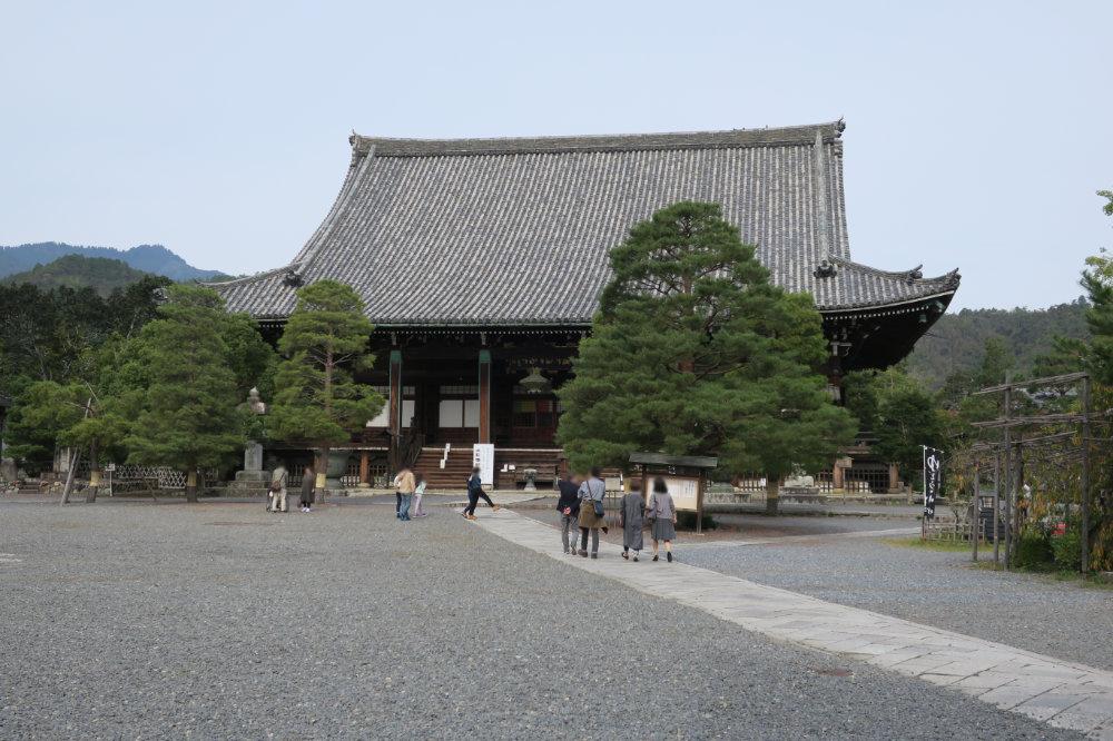 清凉寺 本堂(釈迦堂)