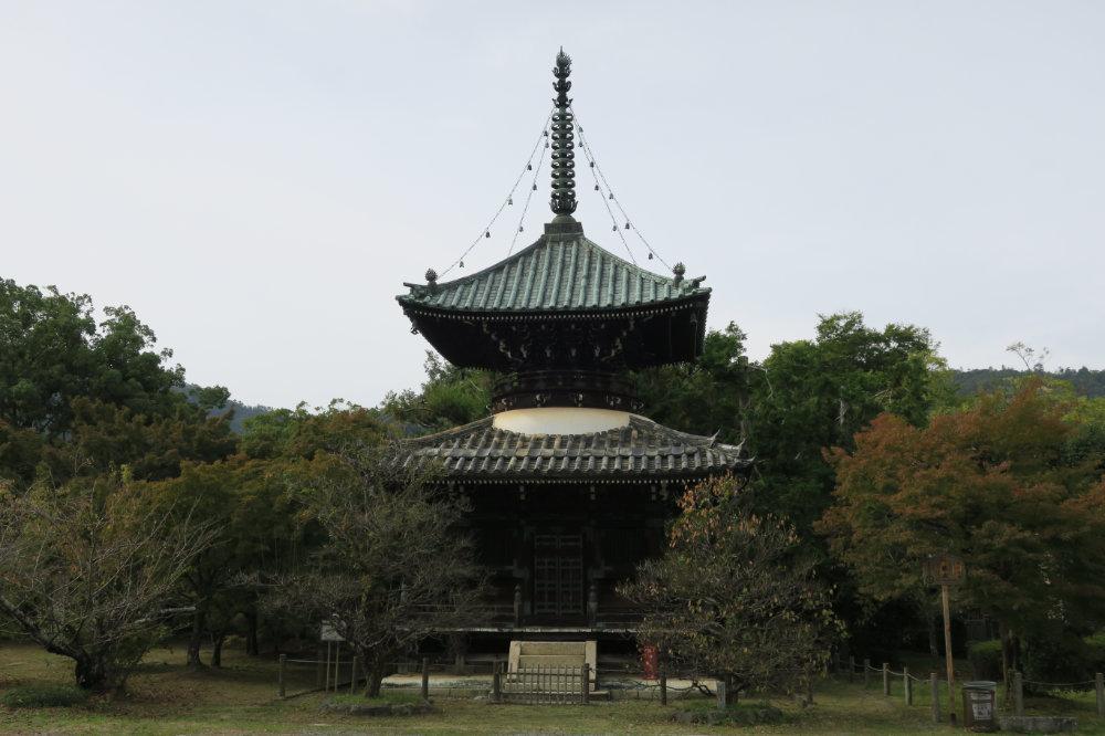 清凉寺 多宝塔