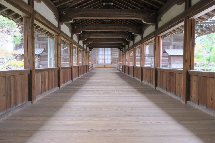 渡り廊下 本堂側