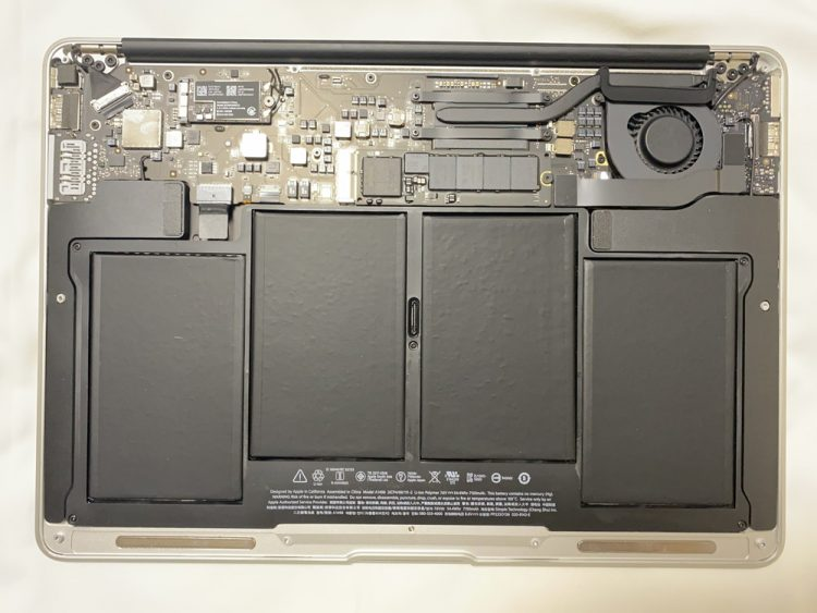 MacBook Air(A1466) 中身