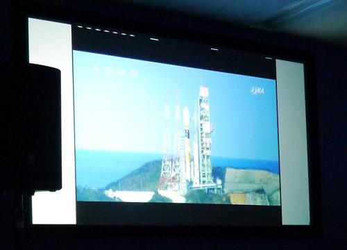 ロケット 打ち上げ映像