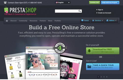 PrestaShop 公式サイト