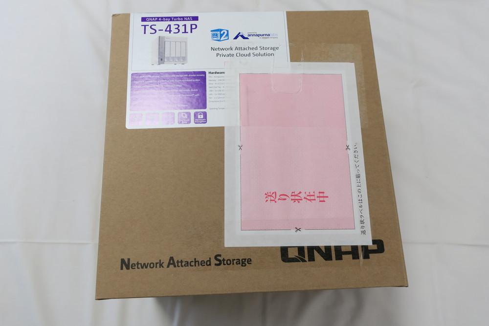 QNAP TS-431P 外箱