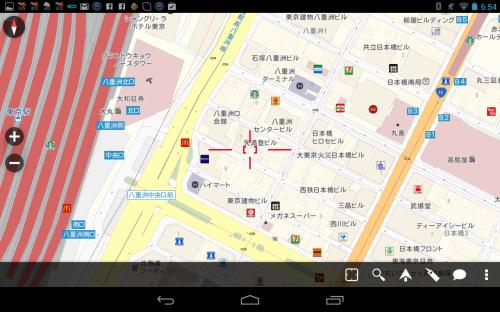 東京駅周辺 詳細地図