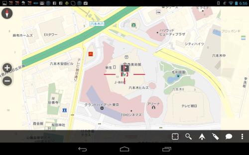 検索結果 地図