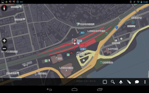 尾道駅周辺地図