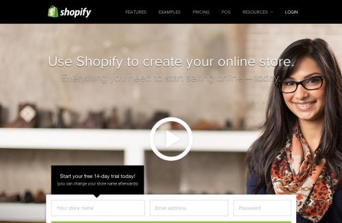 Shopify 公式サイト