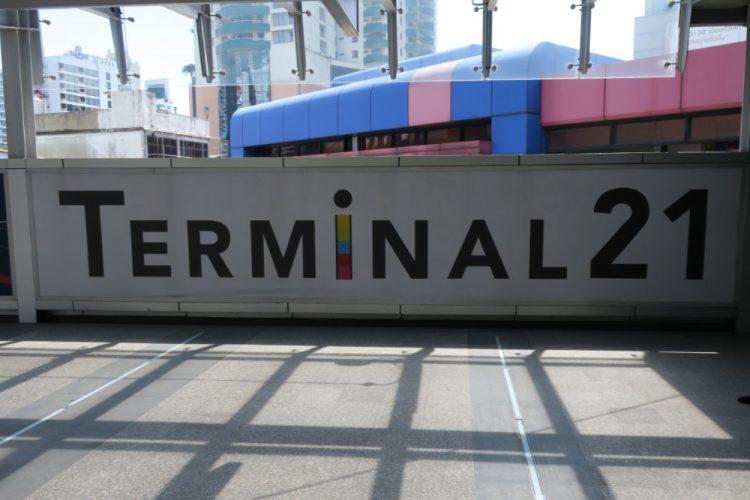 TERMINAL 21の案内版