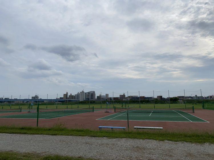 渋谷区二子玉川区民運動施設庭球場