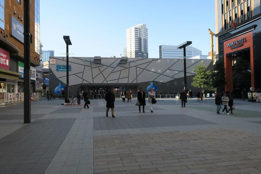 VR ZONE SHINJUKU 建物