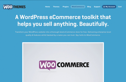 WooCommerce 公式サイト