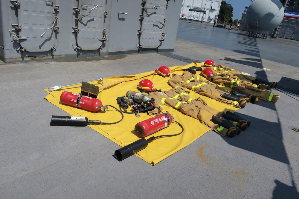 消防隊の装備