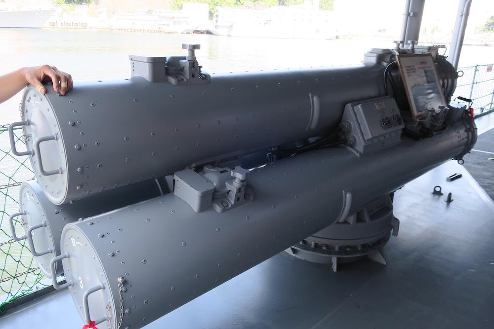 3連装短魚雷発射管