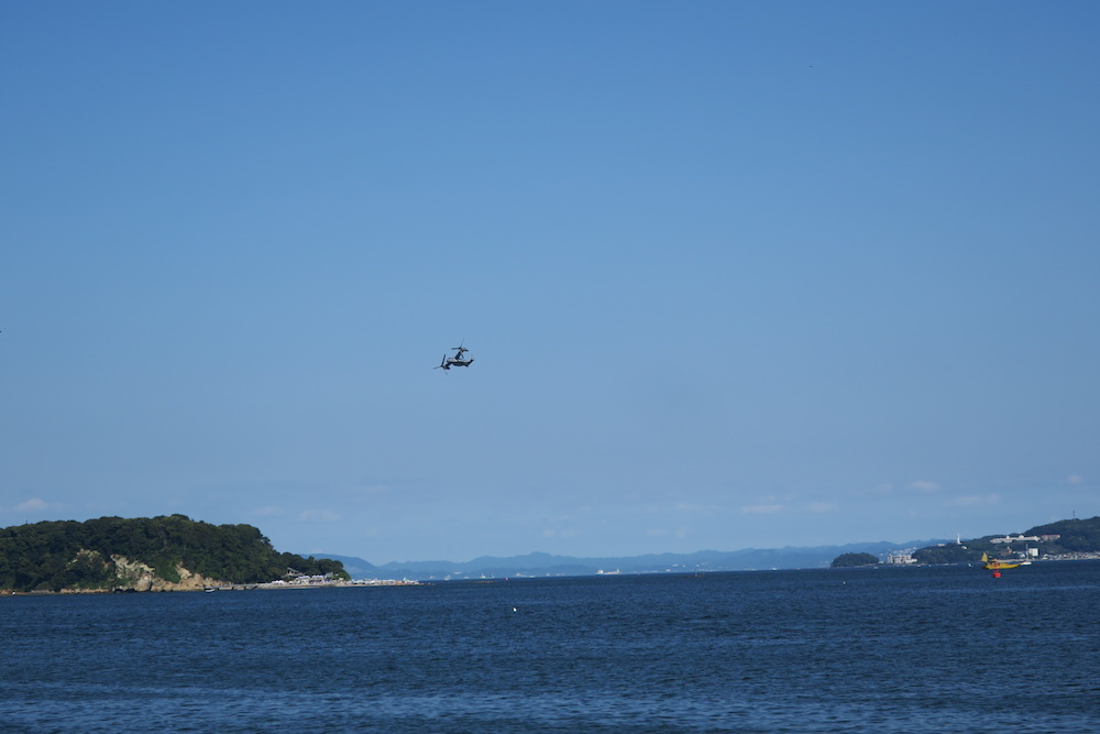 Osprey(オスプレイ)固定翼モードでの飛行