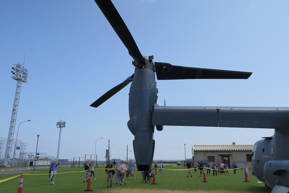 Osprey(オスプレイ)のエンジンとプロペラ