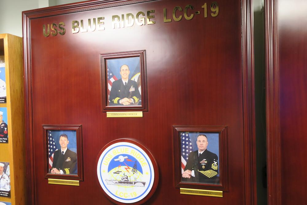 「BLUE RIDGE(ブルー・リッジ)」の乗組員