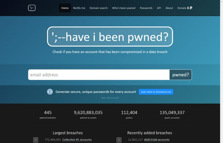 ';--have i been pwned?