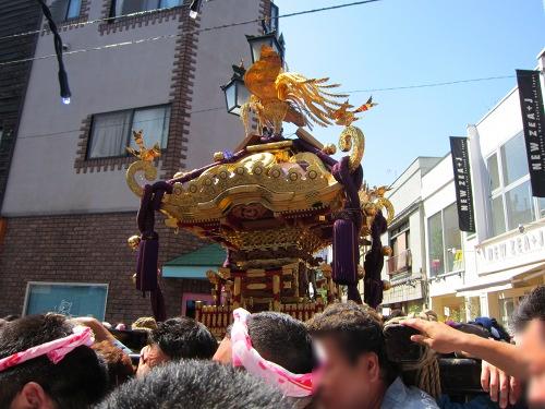 自由が丘熊野神社 二の宮神輿