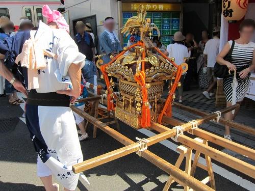 自由が丘熊野神社 子供神輿