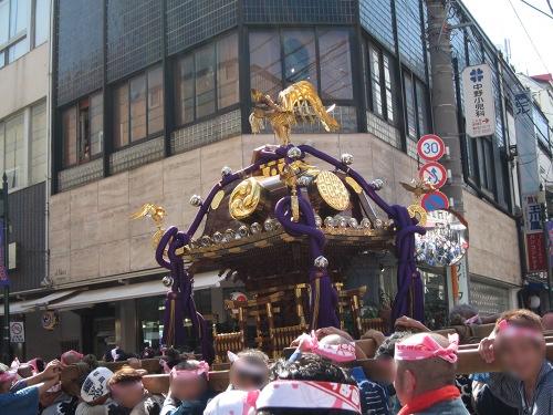 自由が丘熊野神社 一の宮神輿