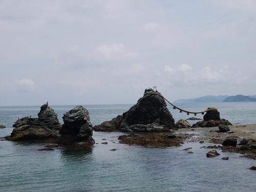 夫婦岩 全景