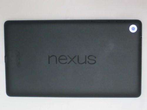 Google Nexus 7 2013 裏側