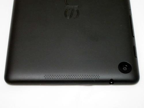 Google Nexus 7 2013 背面上部