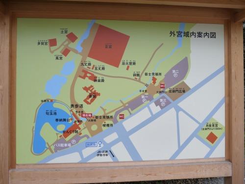 外宮域内案内図