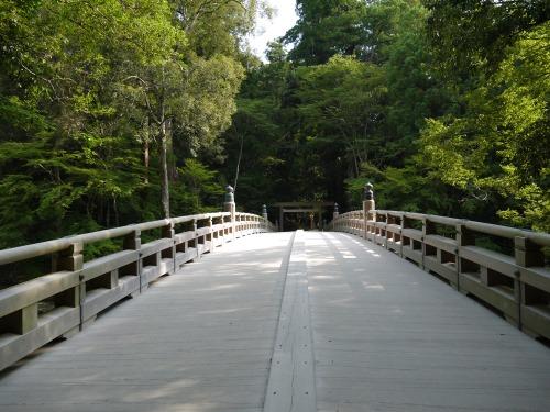 風日祈宮御橋(かざひのみのみやみはし) 橋上