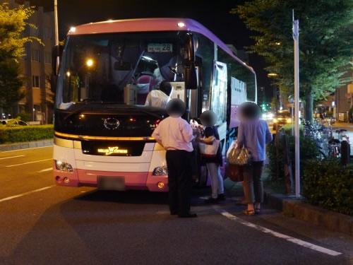 WILLER TRAVEL リラックス バス外観