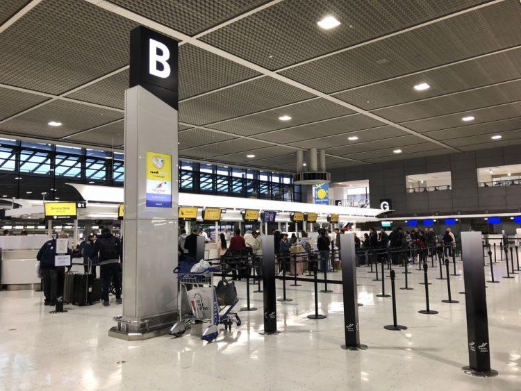 第2ターミナルの3階Bカウンター