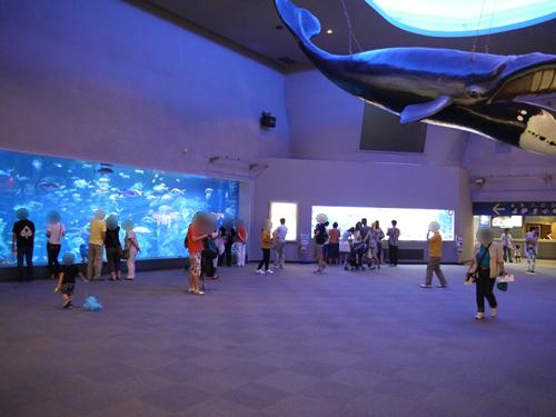 鳥羽水族館 エントランスホール